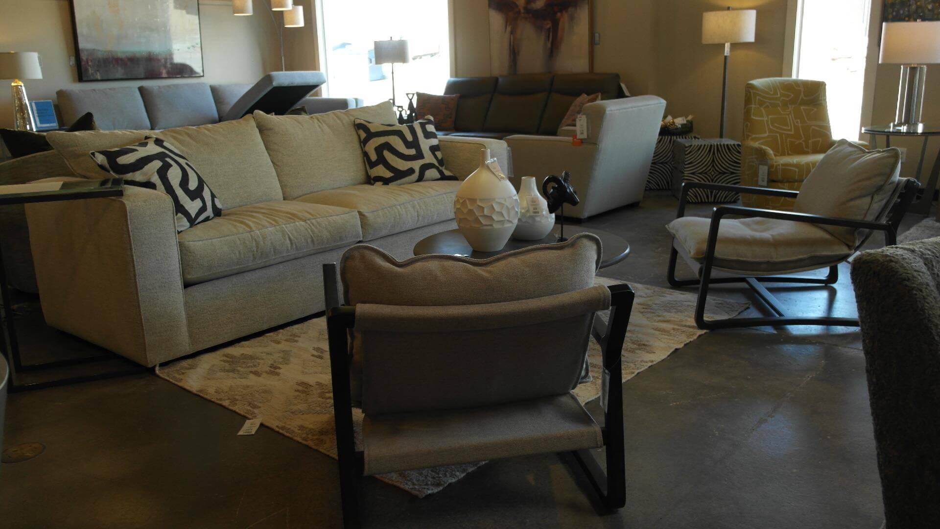 MIlford Long Sofa