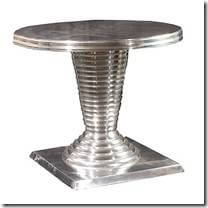 Picture of Metropolis round stripped base table.