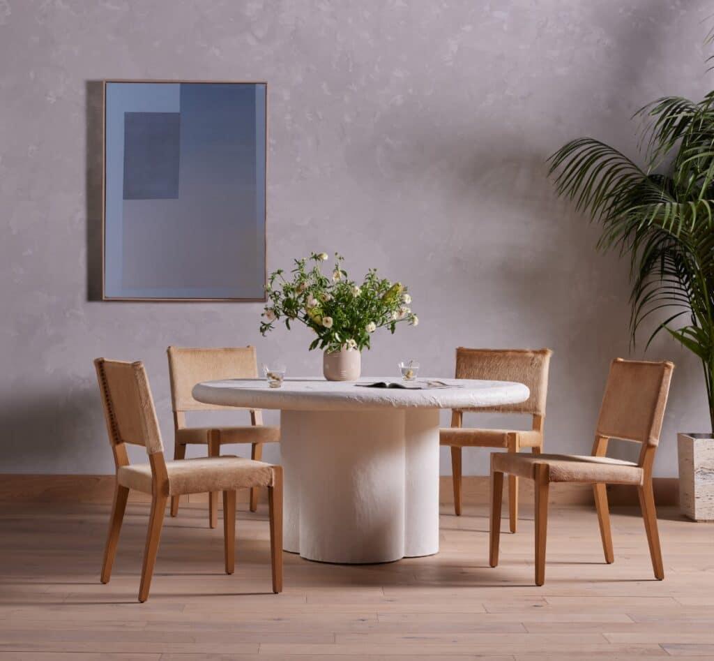 Interior-Design-Trend-Modern-Nomad-Grano-dining-table