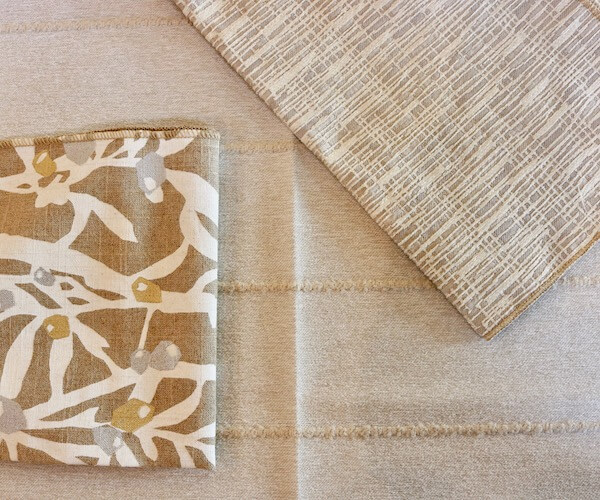 New fabric selections