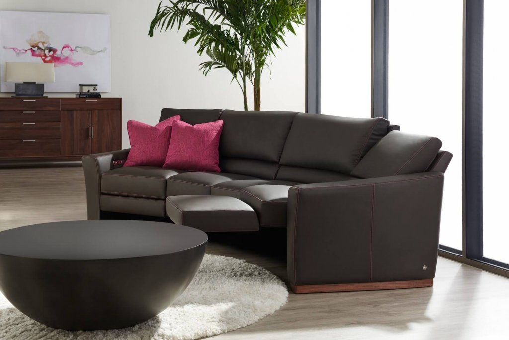 Bryant Wedge Sectional. Part of BY DESIGN's high-style motion furniture collection.