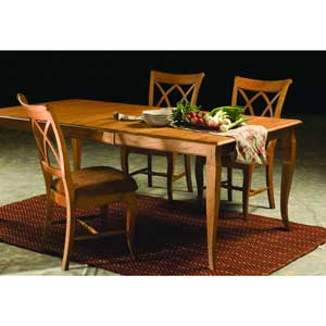 Classic wood table