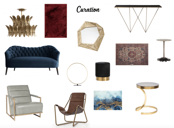 Curation Vision board