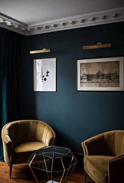 Dark and Moody rooms