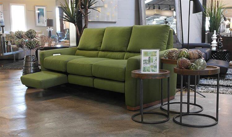 Green motion sofa