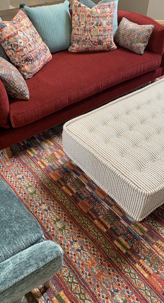 Loloi-rug-Sawyer-sofa-Berkely-ottoman