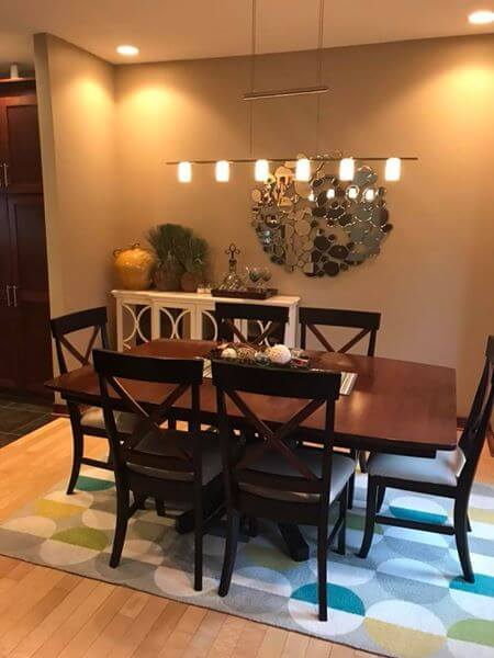 Client's dining room