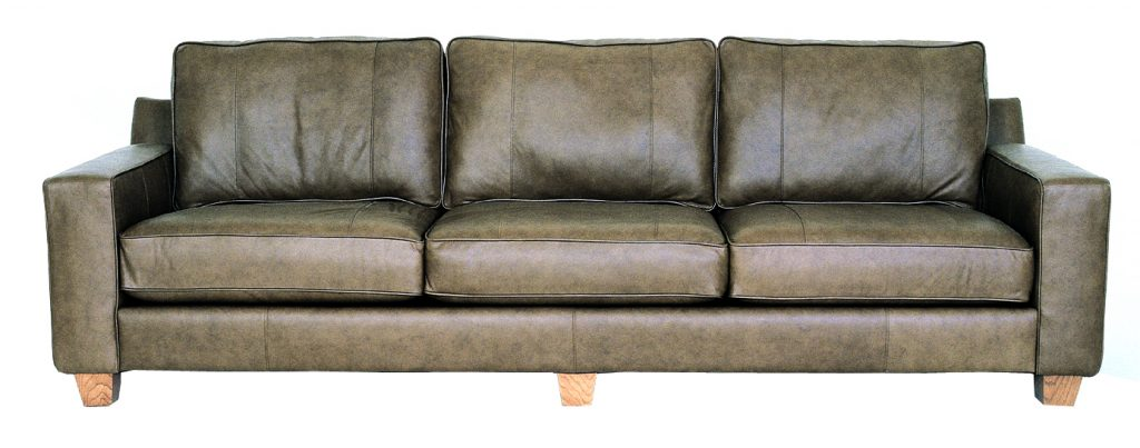 Metro leather sofa_Modern Luxury