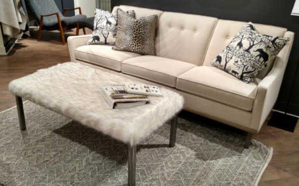 Neutral sofa and chair