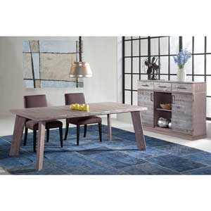 Gray table and chairs