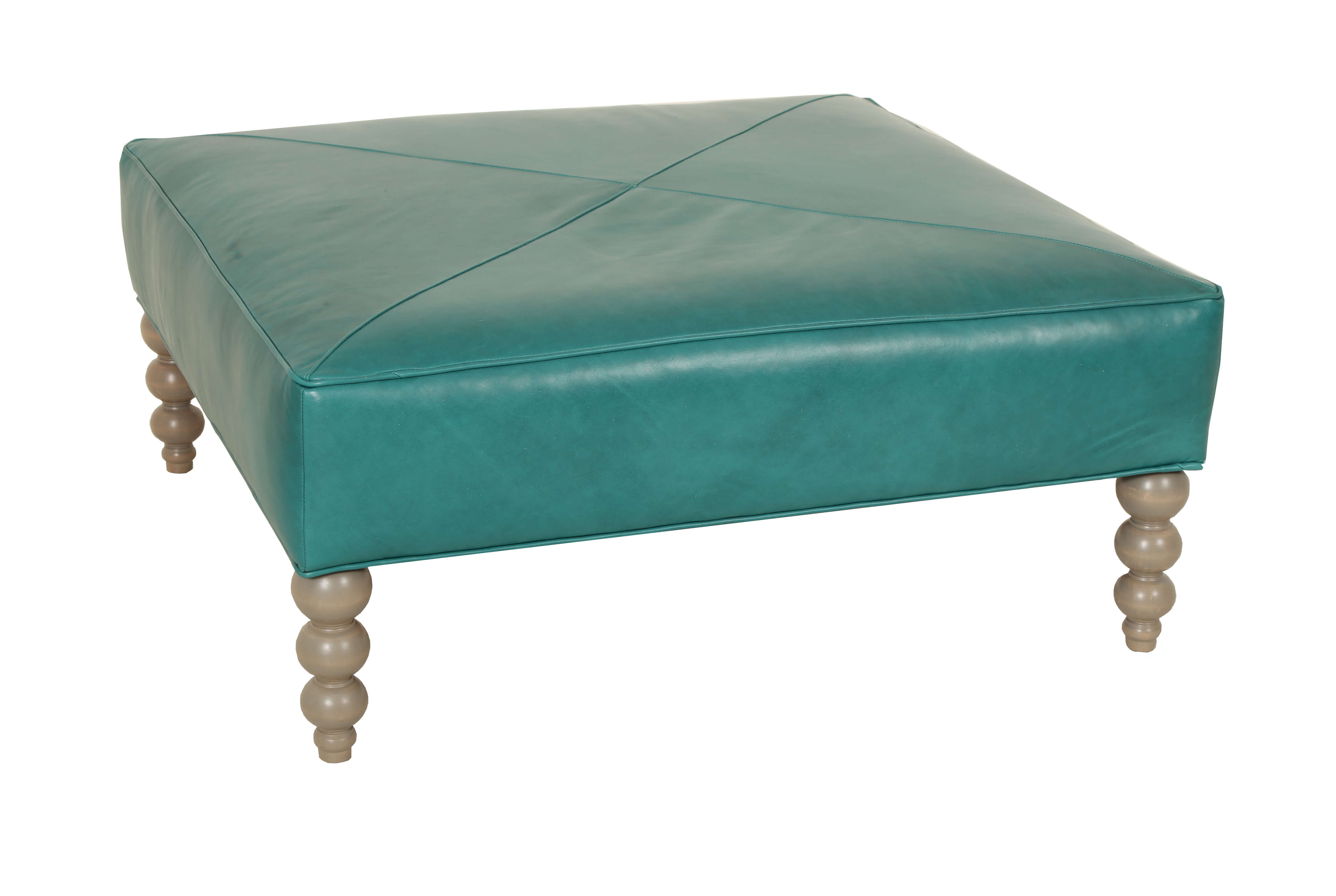 Rockport Square_Ottoman_Eclectic Collector