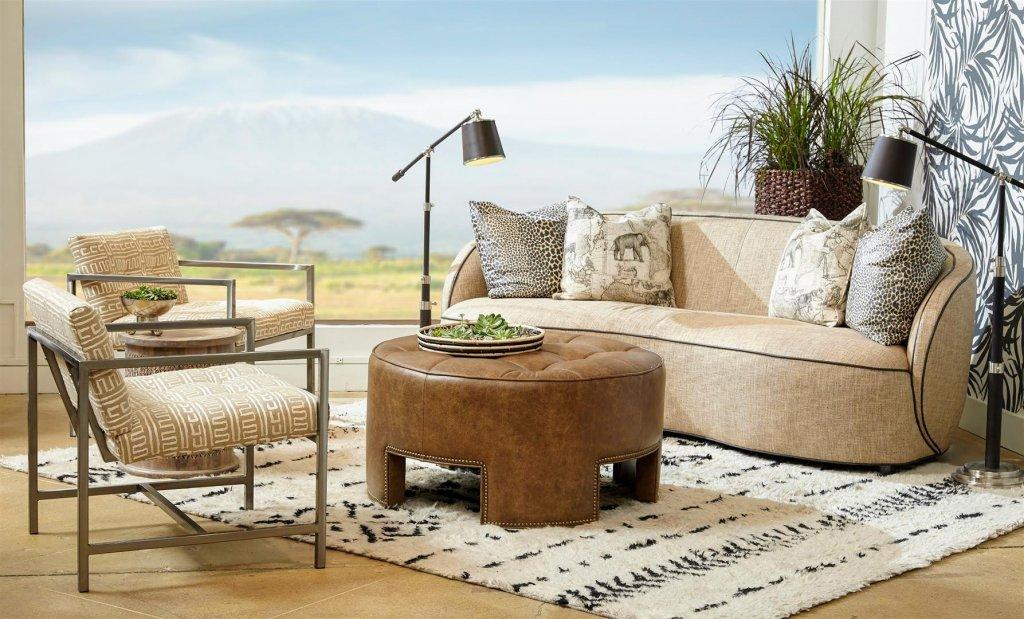 Rondo sofa _ Mimi ottoman _ George chair