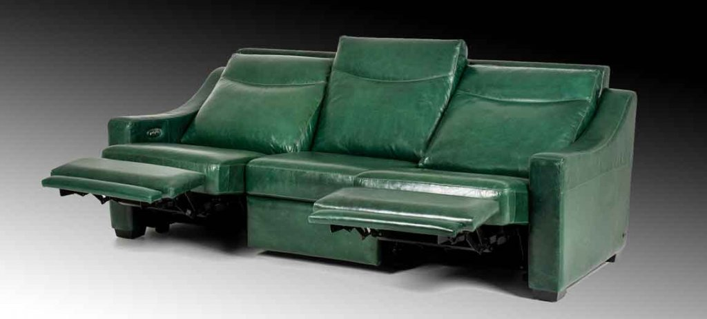 Sarasota Sofa. High-style, transitional design, custom motion furniture. Available in sofas, sectionals, chairs.
