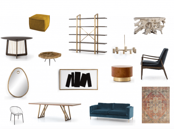 Eclectic Design vision board