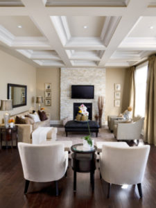 Traditional room with neutral accents