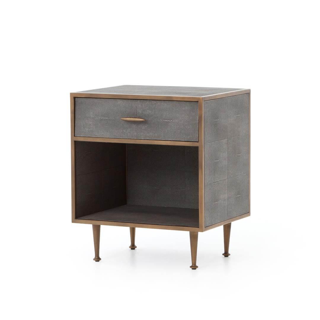 Shagreen-Bedside-Table