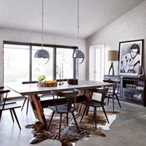 Contemporary Eclectic Room