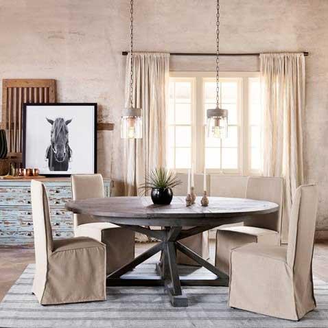 Modern Rustic Blend room