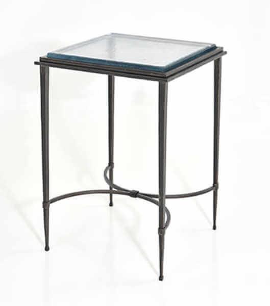 custom-cast-glass-end-table
