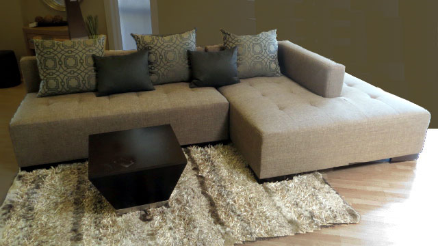 Corbin Sectional at by Design Des Moines