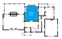 Restoration floorplan