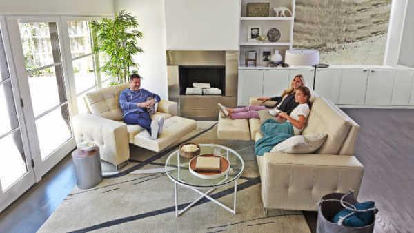 hudson motion sofa and chair