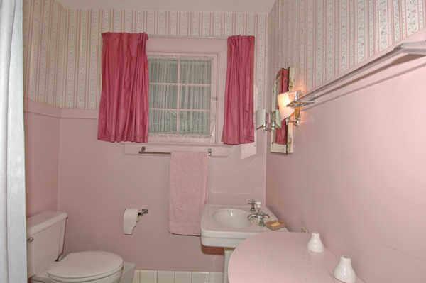 Requisite pink bathroom
