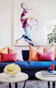 rich and colorful room