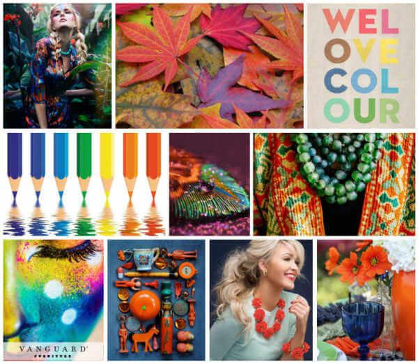 We love colour trend board